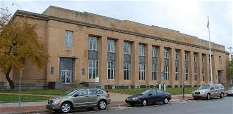 Allegan Post Office by Charles E Chamberlain Federal Building And U S Post Office