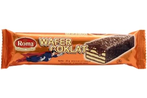 Cocolate Crispy Snack Wafer Coklat roma wafer chocolate coklat superman 0 7oz 8996001355046