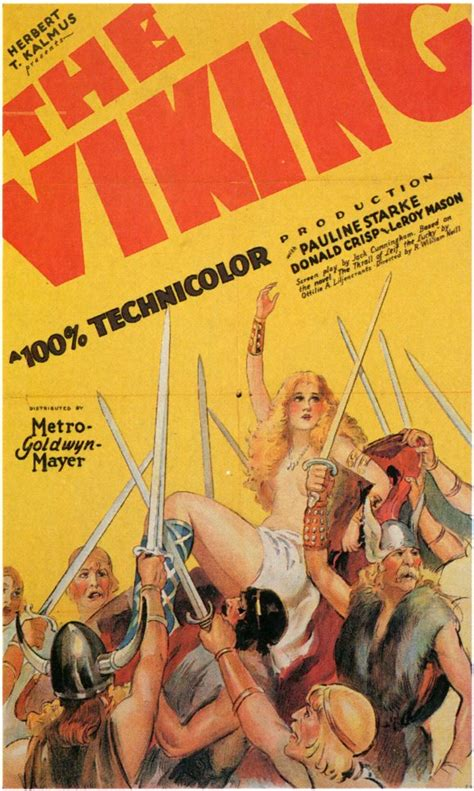 The viking movie poster 1928 1020198222