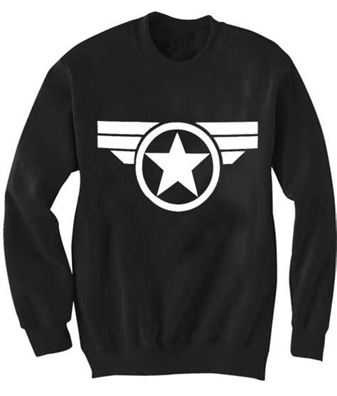 Sweater Captain Chicago Logo unisex crewneck captain america logo sweatshirts sweater