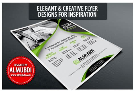 Simple Flyer Design Inspiration