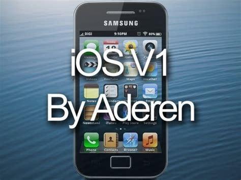 Samsung V1 ios rom v1 for samsung galaxy ace