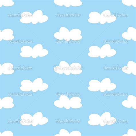 cloud pattern tumblr blue clouds background clipart panda free clipart images