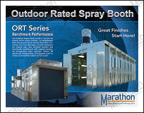 backyard paint booth truck paint booths marathon finishing systems inc