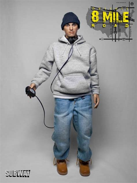 eminem figure 8 mile toyhaven incoming subway 1 6 detroit 8 mile road quot eminen