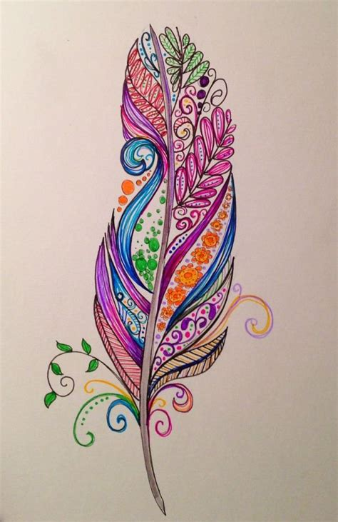 colorful feather tattoo 17 ideas about foot tattoos on tattoos on
