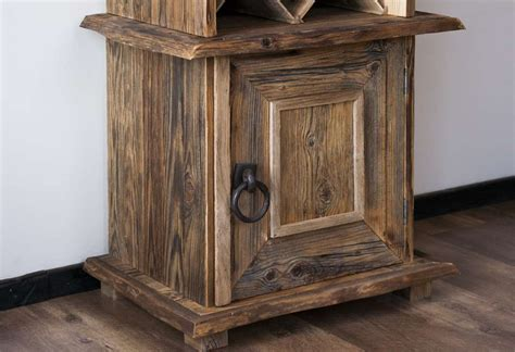 Wood Wine Cabinet by Reclaimed Wood Wine Cabinets Reclaimed Wood Antiquewood Lv