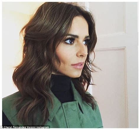x factor hairstyles cheryl fernandez versini poses in sultry x factor ensemble