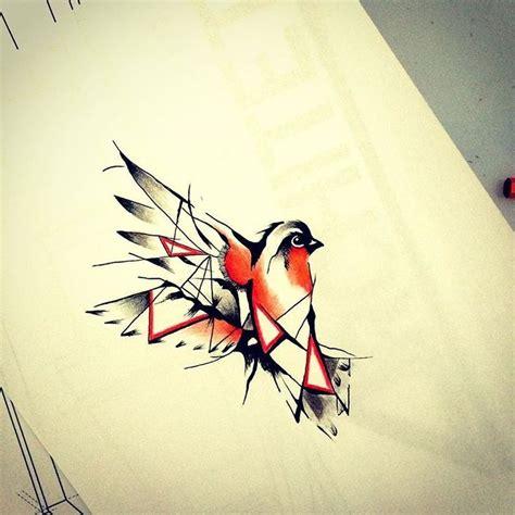 robin tattoo designs sketch geometric animal pesquisa