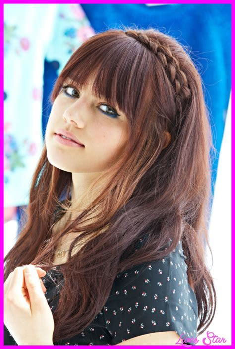 Hairstyles For Hair With Bangs by Cool Haircuts With Bangs For Livesstar