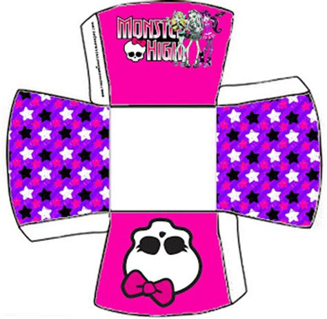 monster high party para imprimir caja geavanna monster high party favor boxes free printables oh my