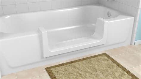 Step In Bathtub Conversion by Bathtub To Step In Shower Conversions Cleancut Step