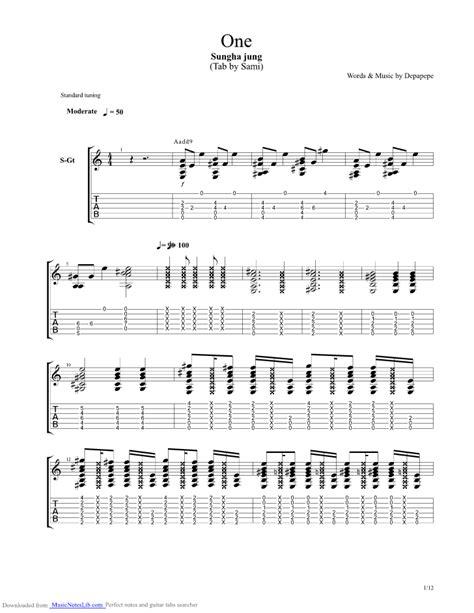 tutorial guitar depapepe one one depapepe guitar pro tab by sungha jung musicnoteslib com