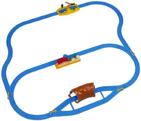 Plarail Track Rail R 10 Turn Rail takaratomy plarail starter rail basic set trains not included japan by tomica toolfanatic