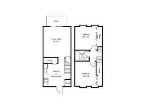 2 Bedroom Townhouse Floor Plans by 2 Bedroom Townhouse