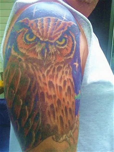 tato di kaki burung hantu tattoo burung hantu album 3 gambar seni tattoo