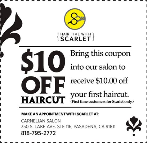haircut coupons in phoenix salon coupons use promo codes or a coupon code for hair