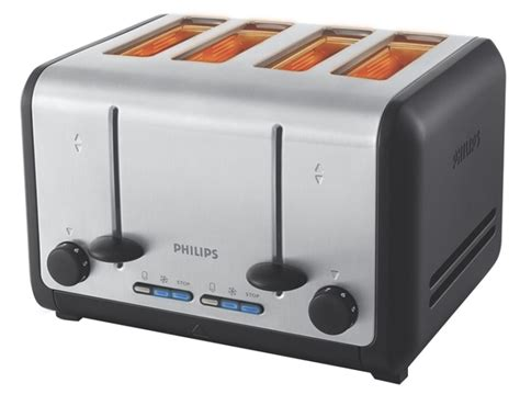 4 Slice Bagel Toaster Philips Toaster Hd2647 Review Expert Reviews