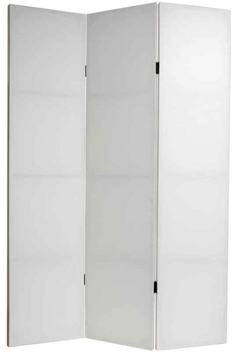 White Room Divider Unlimited Do It Yourself Canvas Room Divider In White 3 Panels View In Your Room
