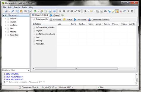 xp configure mysql database manage mysql from windows with these five apps techrepublic