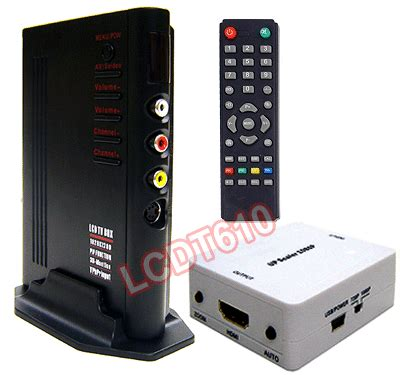 Tv Tuner Hdmi universal rf coax composite to hdmi vga converter switch