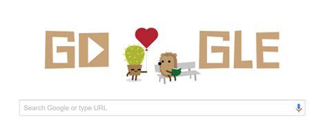 start een doodle egel in doodle voor valentijnsdag