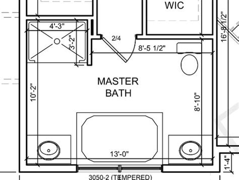 master bath layouts master bath layout tub placement