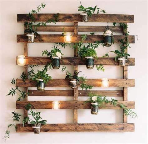 home decor palets palets para decorar plantas ideas para el hogar diy