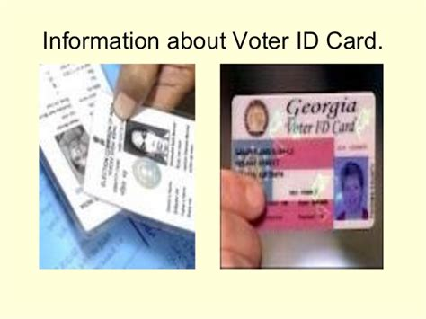 voter id card voter id card
