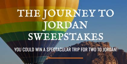 National Geographic Sweepstakes 2017 - national geographic journey to jordan sweepstakes sun sweeps