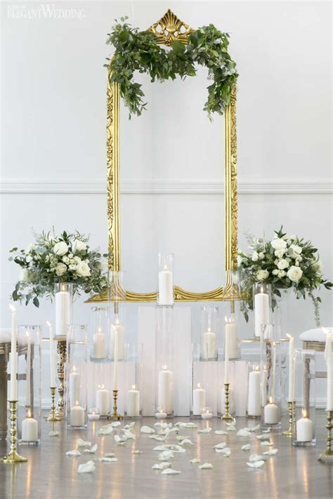 Vintage Green and Gold Wedding Ideas   ElegantWedding.ca