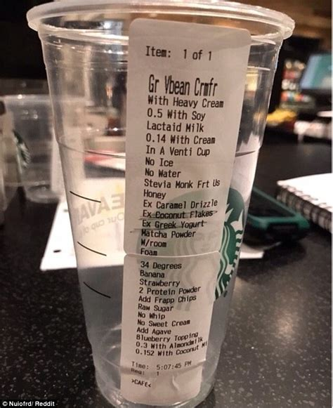 Most Ridiculous Starbucks Order | is this the most ridiculous starbucks order of all time
