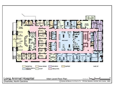 hospital floor plan main level floor plan hospital design building a vet