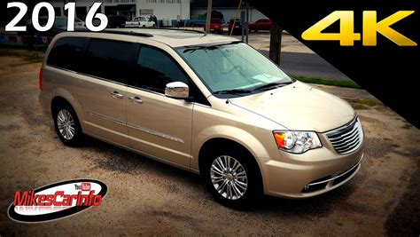 Chrysler Town And Country Touring by 2016 Chrysler Town And Country Touring L Ultimate In
