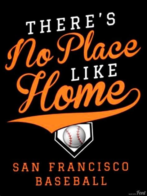 no place like sf no team like sf giants my sports