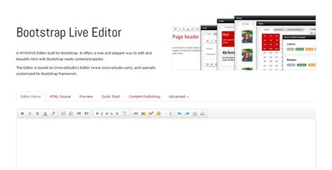 bootstrap layout editor open source best bootstrap ui editors for developers code geekz