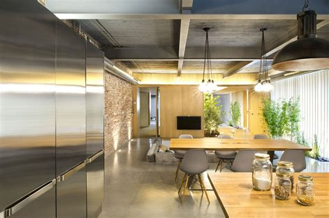home design loft style kitchen dining living space loft style home in terrassa