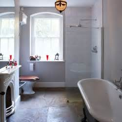 slate tile bathroom ideas choose luxe slate get designer bathroom style for