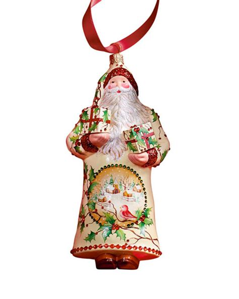 patricia breen design group peppelman claus christmas ornament