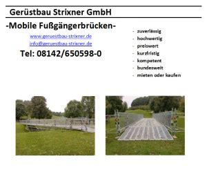 Motorradanhänger Mieten In Aachen by Ger 252 Stbau Strixner Ihr Ger 252 St Verleih F 252 R M 252 Nchen Und