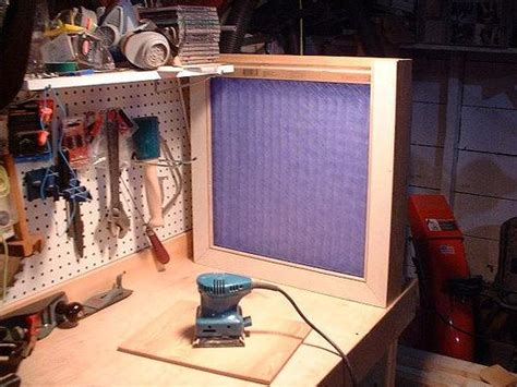 box fan filter woodworking dust collector dust collection pinterest