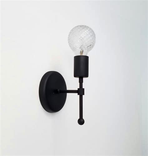 black bathroom lighting fixtures matte black wall sconce bathroom lighting