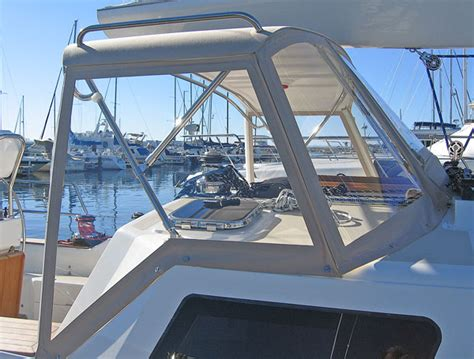 boat dodger marine products hard dodger shipshape products inc