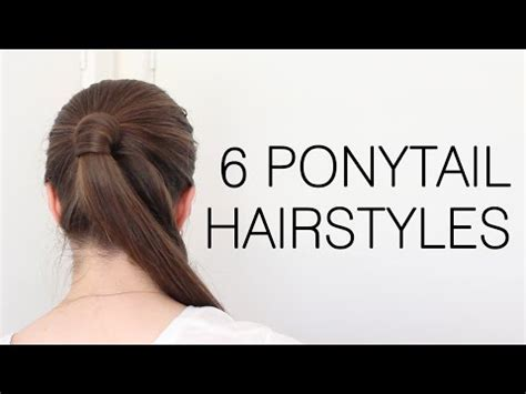 high ponytail with poof hairstyle 7 simple steps 2 how to do the perfect high ponytail on yourself
