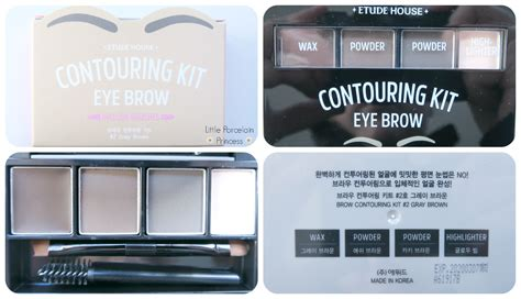 Etude Brow Kit porcelain princess review etude house brow