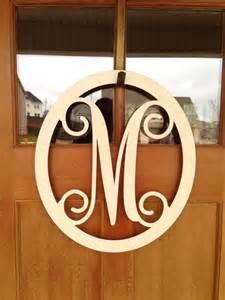 Front Door Monogram Letters Monogrammed Metal Wreath Monogrammed Wreath Monogrammed Letters Me