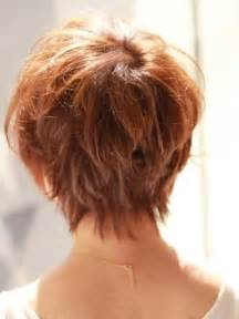 back viewof shag hairdstyles back view of short haircuts short hairstyles 2016 2017