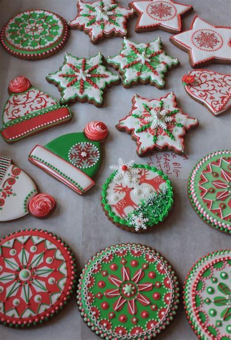Reindeer cookies decorated cookies christmas cookie recipes christmas