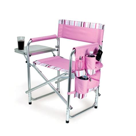 picnic time sports chair picnic time portable folding sports cing chair w