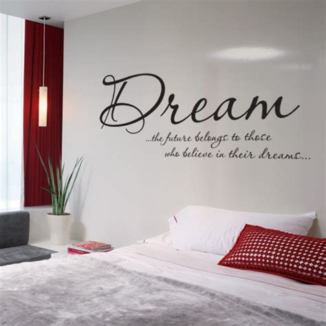 dream bedroom vinyl wall art sticker  bluntone